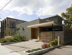 住宅与自然的完美平衡:AdamsFleming别