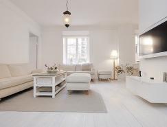 <b>斯德哥爾摩極簡風格公寓設計</b>