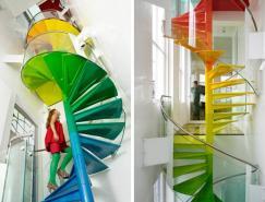 不同風格的創意室內樓梯設計