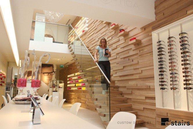 不同风格的创意室内楼梯设计图片