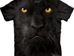 有趣的超逼真动物T恤设计