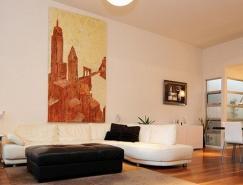 精彩的设计元素:澳大利亚现代公寓设计