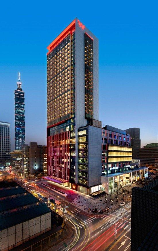 广告公司画册_台北 W酒店设计 - 设计之家
