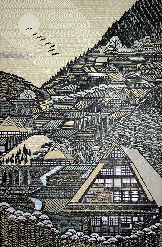 morimura木刻版画作品