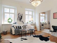 斯堪的纳维亚风格起居室设计