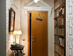 明斯克复古装修风格70平米小公寓