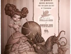 西班牙FelideusBubastis插画作品欣赏