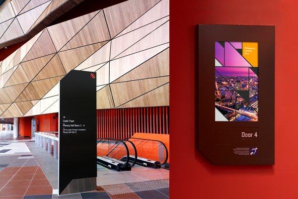 墨尔本会展中心视觉形象识别设计