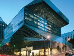 西雅图公共图书馆空间导视设计