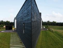 丹麦三角外形住宅设计
