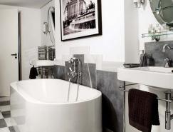 ArtDeco装饰艺术风格浴室设计
