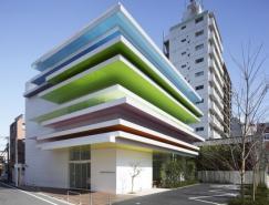 建筑欣赏:日本SugamoShinkin银行志村分行