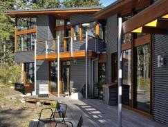 Lopez岛林中别墅设计