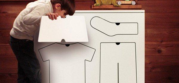 告别凌乱:有趣实用的儿童衣柜