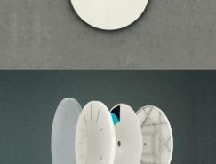 疯狂创意的挂钟设计