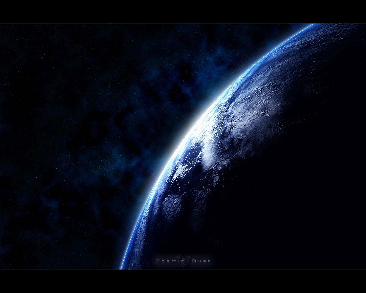 greg martin完美的太空星球绘画作品(3)图片