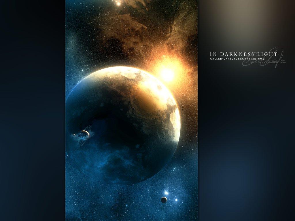 greg martin完美的太空星球绘画作品(4)图片