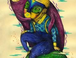 Saddo另类的街头艺术作品