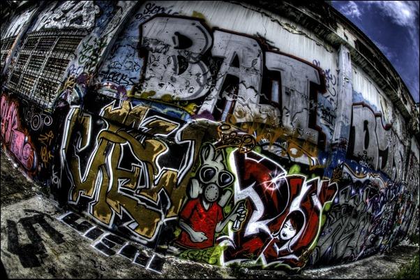 70个国外街头涂鸦艺术作品欣赏(7) - 设计之家