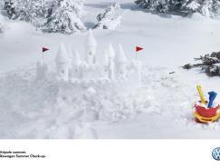 創意無限:一組汽車廣告設計
