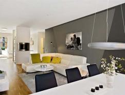 哥德堡時尚溫馨的公寓設計
