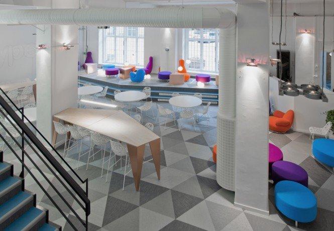 Skype斯德哥尔摩办事处室内设计