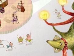 HollyClifton儿童插画作品