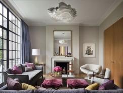 非常温馨的室内装饰:纽约Townhouse联排别墅