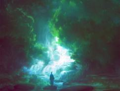 TomSchole幻想概念CG场景设计