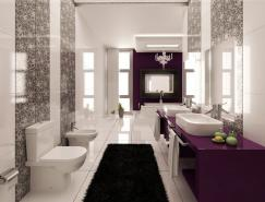 獨特的浴室效果圖設計