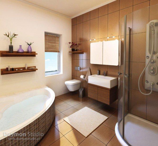独特的浴室效果图设计