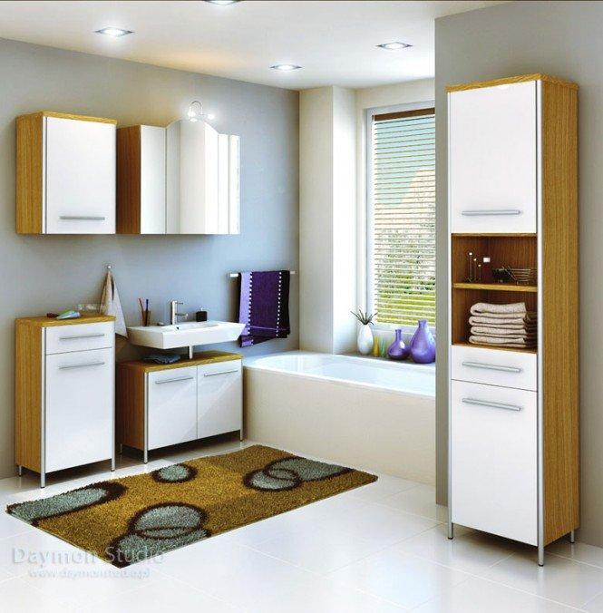 独特的浴室效果图设计 - 设计之家