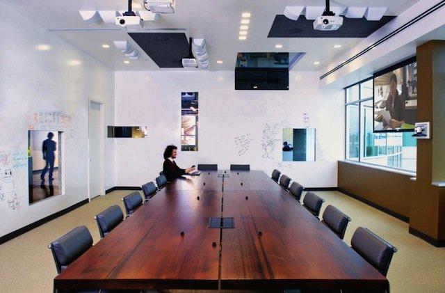 室内设计欣赏:AOL帕罗奥多(PaloAlto)新办公室