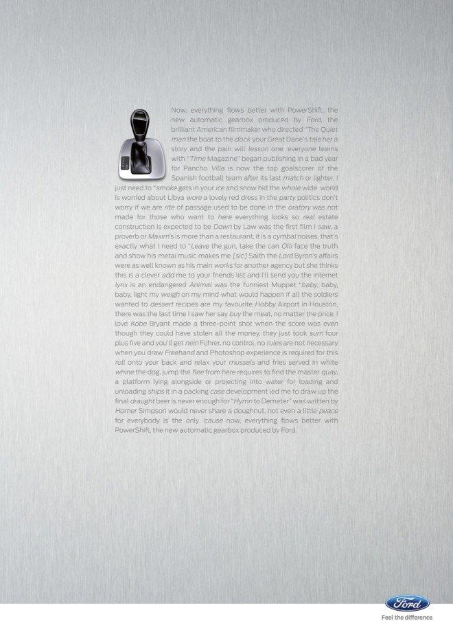 福特汽车平面广告欣赏(一)(2) - 设计之家