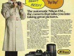 品味经典:老式相机广告