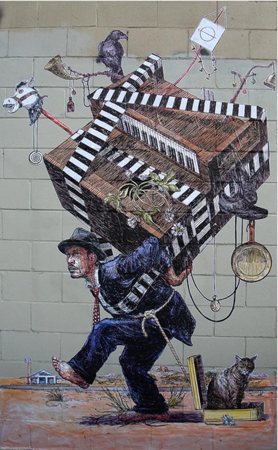 国外街头创意涂鸦艺术 - 设计之家