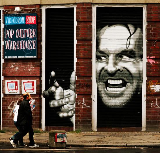 国外街头创意涂鸦艺术(4) - 设计之家