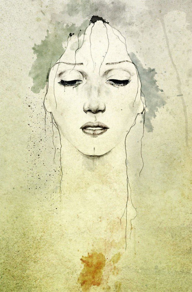 DiegoFernandez女性人物插画