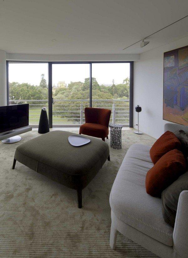 悉尼艺术收藏家的公寓设计