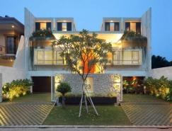 雅加达安静优雅的别墅设计