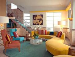 美丽而多彩的酒店设计:迈阿密海滩Lords酒店