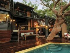 澳大利亚漂亮的海滨森林别墅