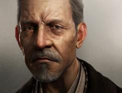 超逼真的3D肖像作品