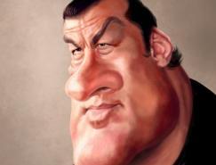 荷兰EdvanderLinden:名人肖像漫画
