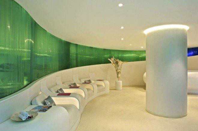 室内设计欣赏:印度AuraSpa水疗中心