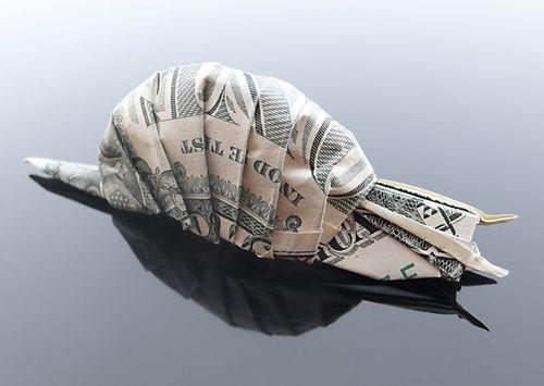 CraigSonnenfeld美元钞票折纸艺术