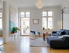 别致的生活空间和设计元素:64平米公寓