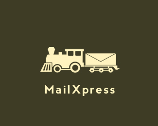 标志快3彩票官网元素运用实例:火车