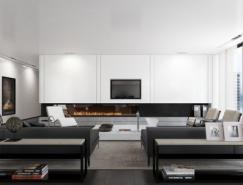 特拉维夫海景住宅室内设计