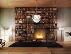 梦幻书房效果图欣赏